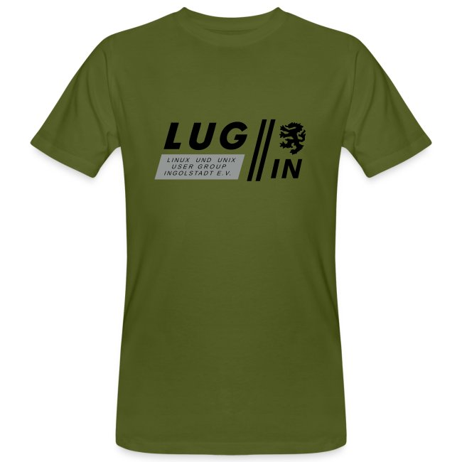 LUG-IN Logo mit Text