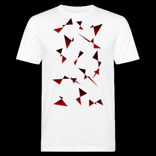 T4Y Triangle Red - Männer Bio-T-Shirt