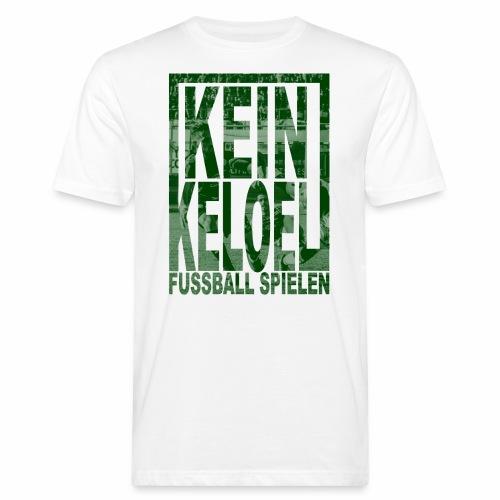 kein keloel - Mannen Bio-T-shirt
