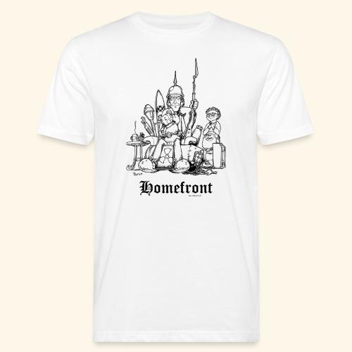 Homefront Heimatfront Waffen Mama Muttersöhnchen - Männer Bio-T-Shirt
