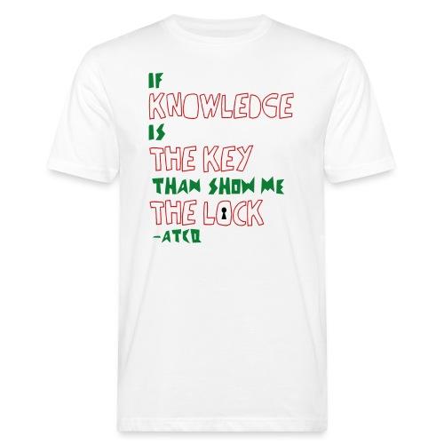Check the Rhime - Männer Bio-T-Shirt
