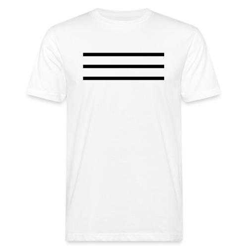 Strokes Black - Men's Organic T-Shirt