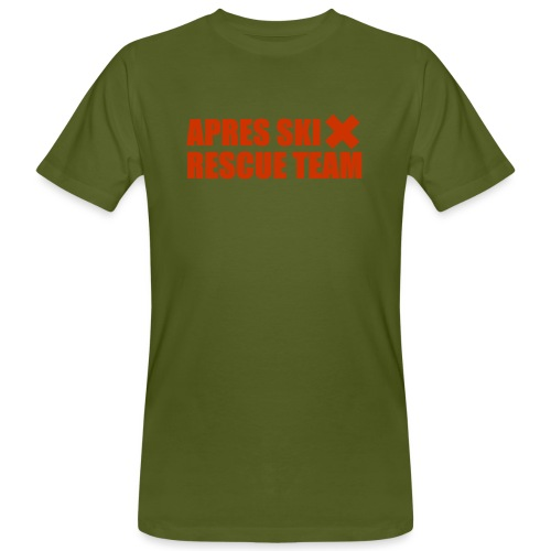 apres-ski rescue team - Mannen Bio-T-shirt