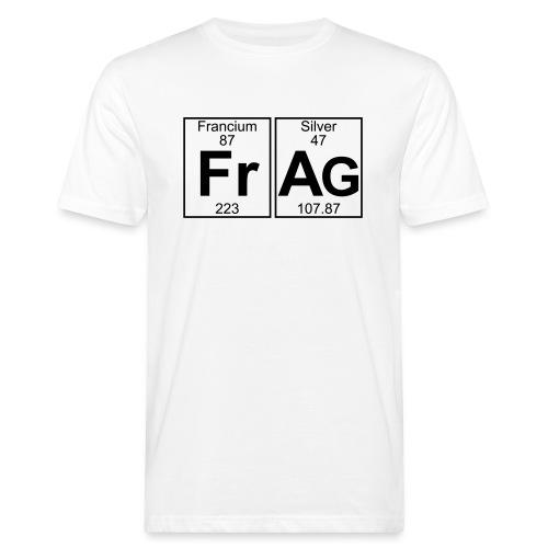 Fr-Ag (frag) - Full - Men's Organic T-Shirt