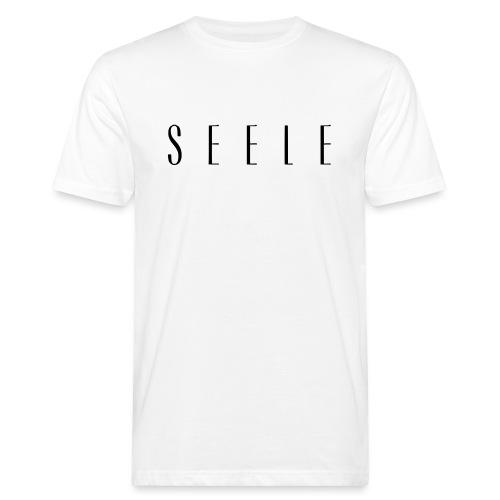 SEELE - Text Cap - Miesten luonnonmukainen t-paita