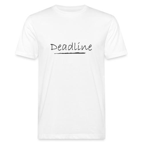 Deadline Rave - Männer Bio-T-Shirt