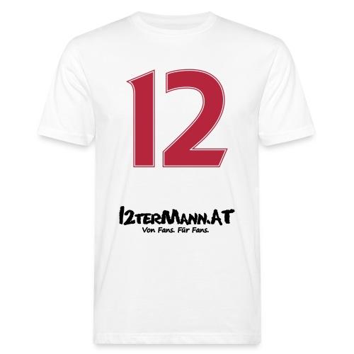 12termann mitfans - Männer Bio-T-Shirt