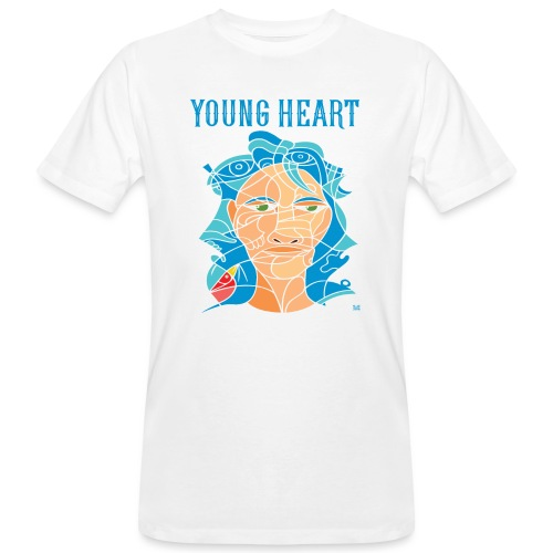Young Heart - Bird (SE) - T-shirt ecologica da uomo