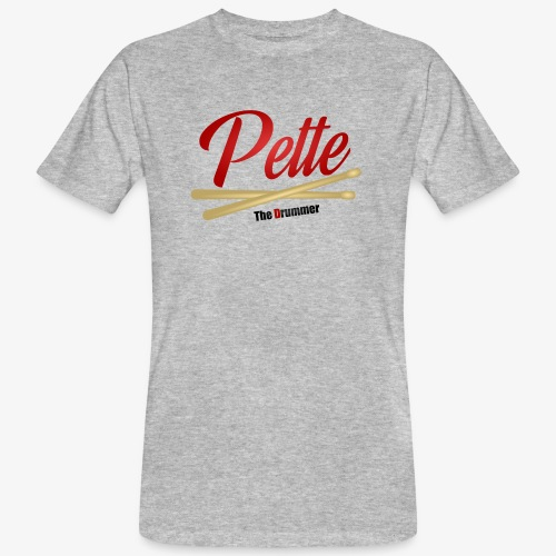 Pette the Drummer - Men's Organic T-Shirt