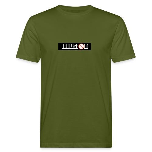 Illusion Box Logo - Men's Organic T-Shirt