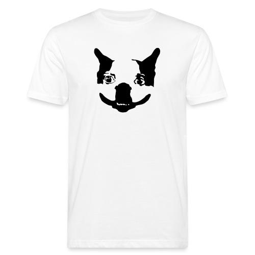 Lennu - Mustavalkoinen - Miesten luonnonmukainen t-paita