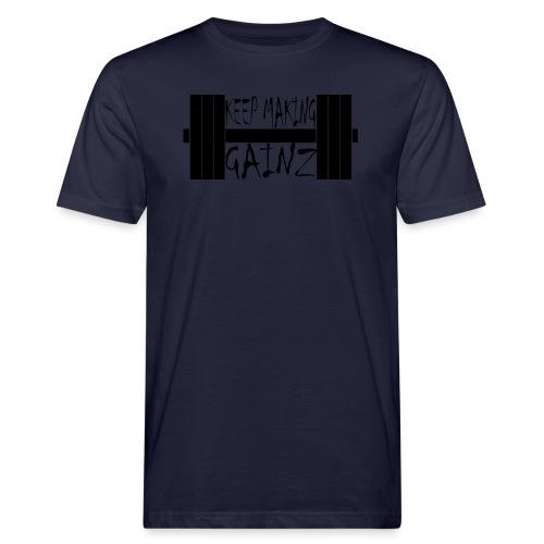 Weight + Text - Men's Organic T-Shirt