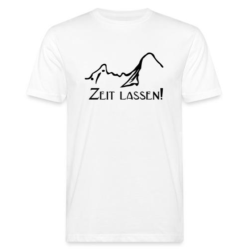 Watze-Zeitlassen - Männer Bio-T-Shirt