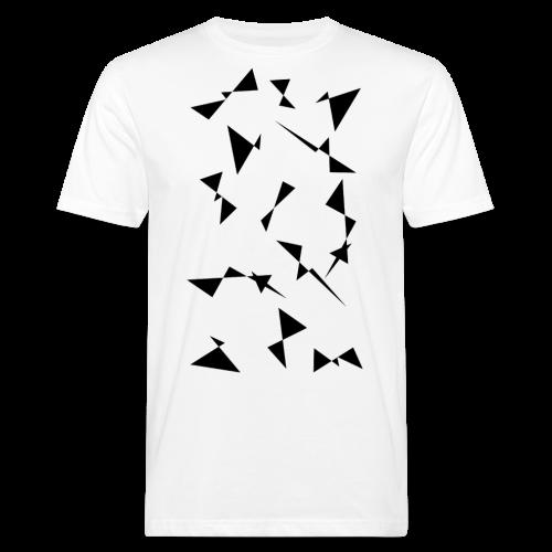 T4Y Triangle Black - Männer Bio-T-Shirt
