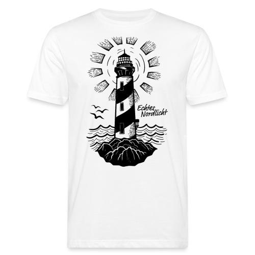 Echtes Nordlicht - Männer Bio-T-Shirt