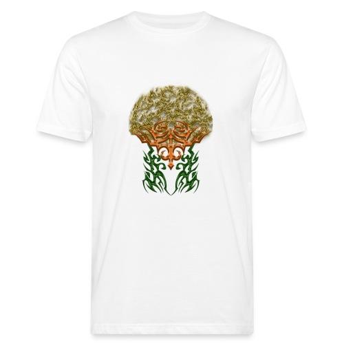 Golden Brain - Männer Bio-T-Shirt