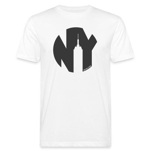 Logo French Yorker noir - T-shirt bio Homme