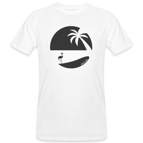 Logo French Floridian noir - T-shirt bio Homme