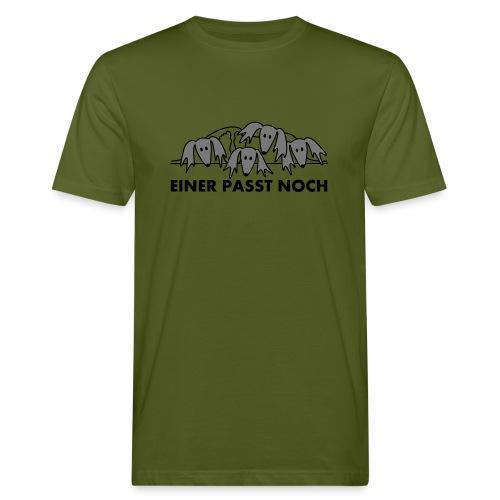 Salukis, einer paßt noch - Männer Bio-T-Shirt