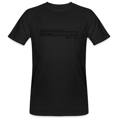 Improving performance - Camiseta ecológica hombre