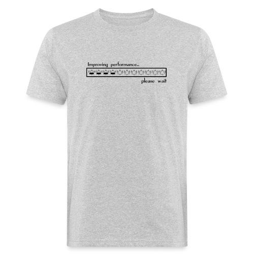 Improving performance - Camiseta ecológica hombre