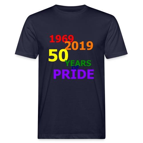 50 Jahre CSD - Männer Bio-T-Shirt