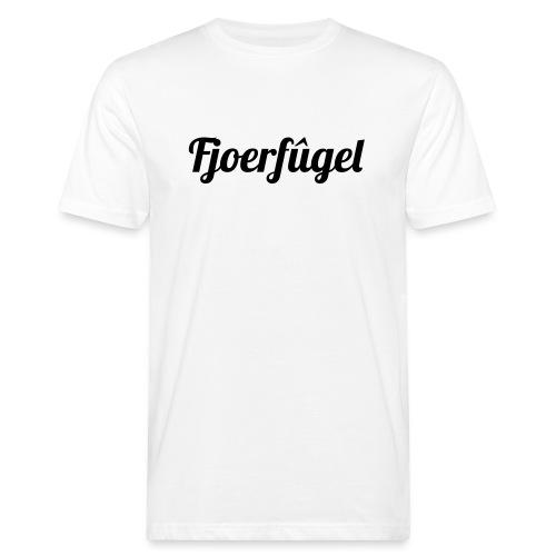 fjoerfugel - Mannen Bio-T-shirt
