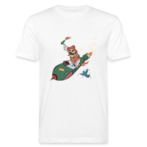 POET REBEL - Mannen Bio-T-shirt