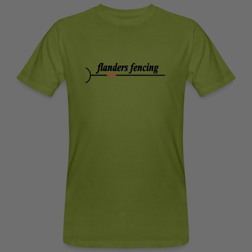 Flanders Fencing - Mannen Bio-T-shirt