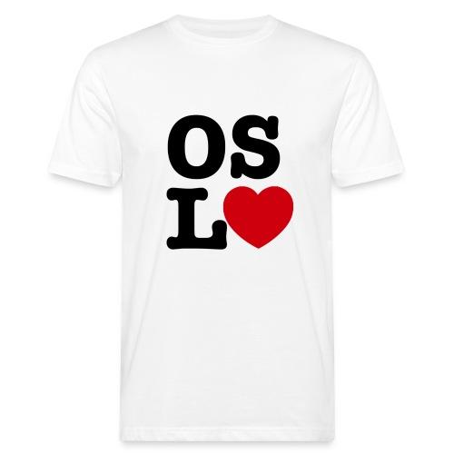 Oslove - OSL♥ - Økologisk T-skjorte for menn