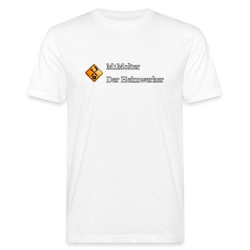 M1Molter - Der Heimwerker - Männer Bio-T-Shirt