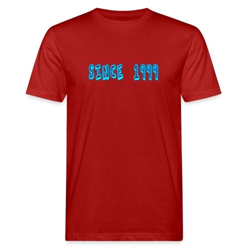 Since 1999 - Miesten luonnonmukainen t-paita