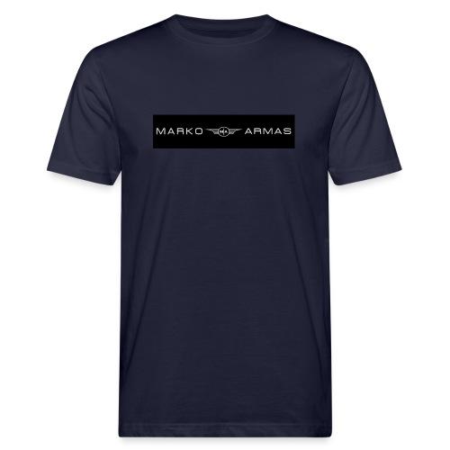 logo - Miesten luonnonmukainen t-paita