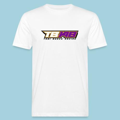 Tobi Logo schwarz - Männer Bio-T-Shirt