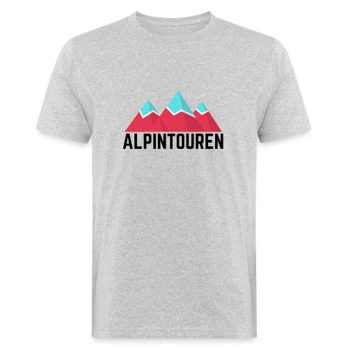 Alpintouren - Männer Bio-T-Shirt