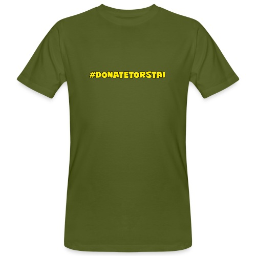 donatelogo - Miesten luonnonmukainen t-paita