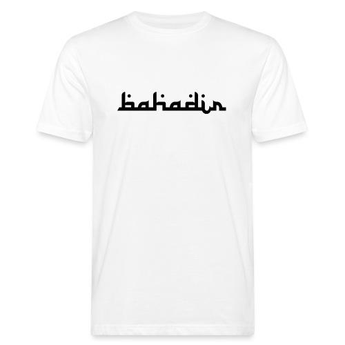 bahadir logo1 png - Männer Bio-T-Shirt