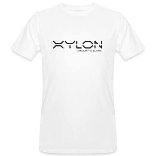 Xylon Handcrafted Guitars (plain logo in black) - Men's Organic T-Shirt