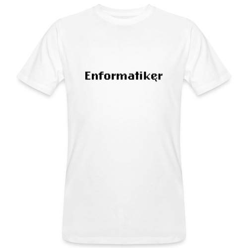 Enformatiker- Cursor - Männer Bio-T-Shirt
