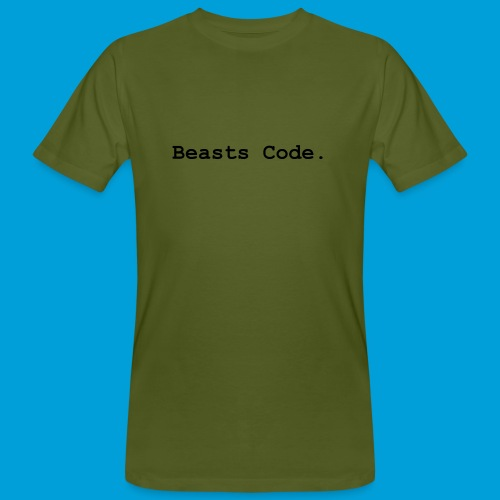 Beasts Code. - Men's Organic T-Shirt