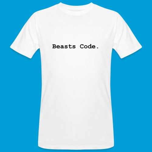 Beasts Code. - Men's Organic T-Shirt