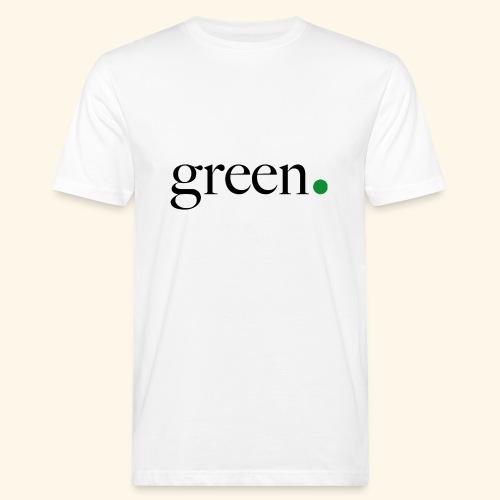 Green - T-shirt bio Homme