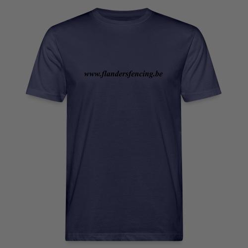 wwww.flandersfencing.be - Mannen Bio-T-shirt