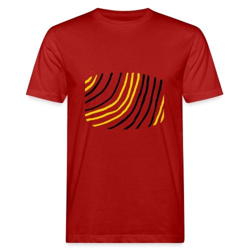 Raidat - Miesten luonnonmukainen t-paita