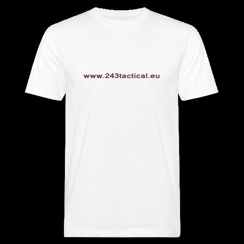 .243 Tactical Website - Mannen Bio-T-shirt