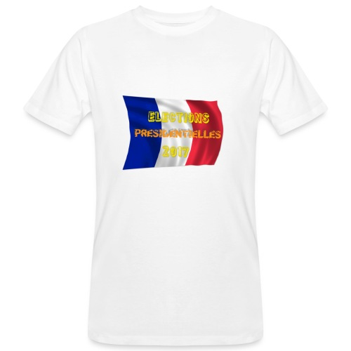 ELECTIONS 2017 - T-shirt bio Homme