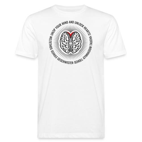 UNZIP YOUR MIND (black) - Männer Bio-T-Shirt