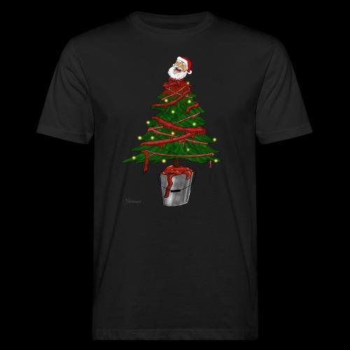 Messy Christmas - Mannen Bio-T-shirt