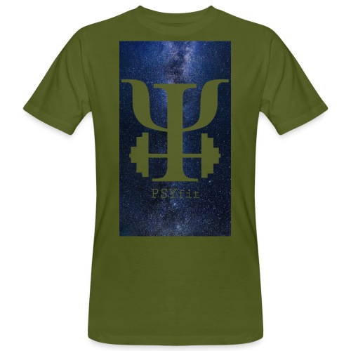 HUGE GALAXY BACKGROUND - Men's Organic T-Shirt