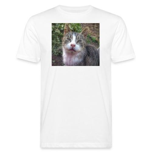 Katze Max - Männer Bio-T-Shirt